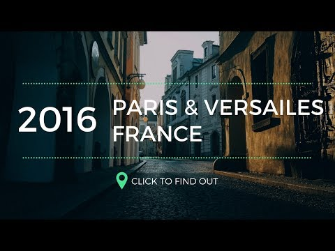 Versailes and Paris France Travel Video Vlog // @DGisHERE