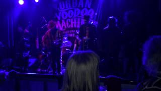 Goodnight my dear. The Urban Voodoo Machine feat Caz. Live at Liverpool Arts Club 16-5-2015