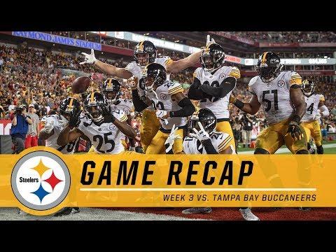 Week 3: Pittsburgh Steelers vs. Tampa Bay Buccaneers   Game Recap