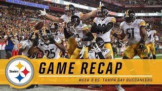 Week 3: Pittsburgh Steelers vs. Tampa Bay Buccaneers | Game Recap