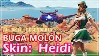 Fortnite - BUGA MOLON + Skin Heidi