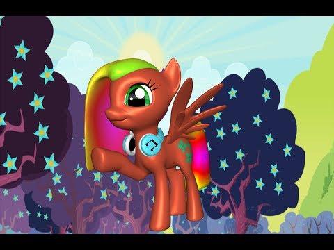Мой маленький пони 3Д Создай свою пони игра