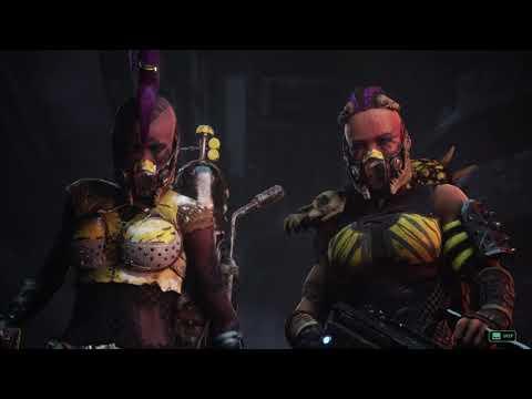 WH40k. Necromunda: Underhive Wars - Chapter 1 - Hive Quake  