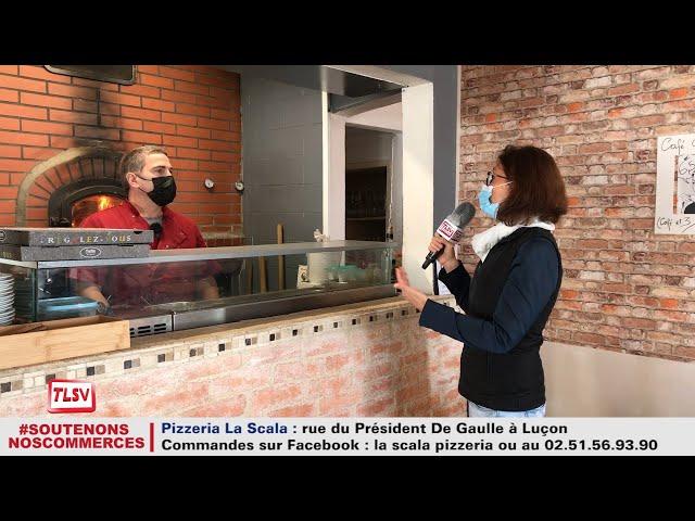 Luçon : la vente à emporter de pizza à la Scala