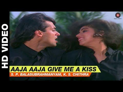 Aaja Aaja Give Me A Kiss - Love | S.P. Balasubrahmanyam, K.S. Chitra | Salman Khan & Revathi