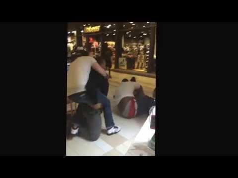Crossgates Mall Kiosk Fight