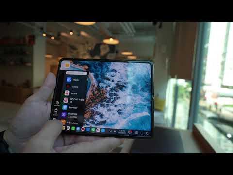 Activating PC Mode on Xiaomi Mi Mix Fold