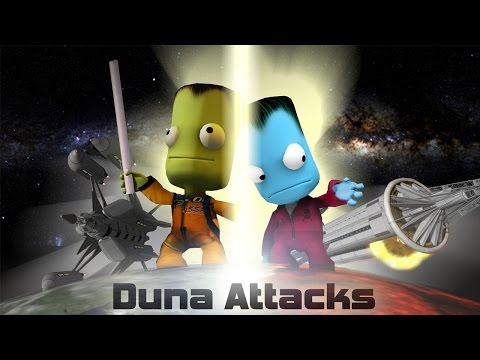 Duna Attacks: a KSP Movie