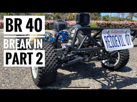 How To Break In A Bartolone BR 40 Reed Case Engine! - Part 2 - Smith RC Studios