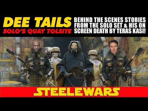 Dee Tails (Quay Tolsite) Behind The Scenes On Solo & His On Screen Death By Teras Kasi