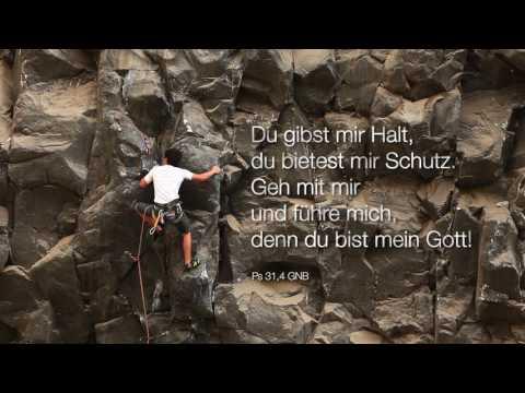 Bibelwort Psalm 31,4 - sicherer Halt