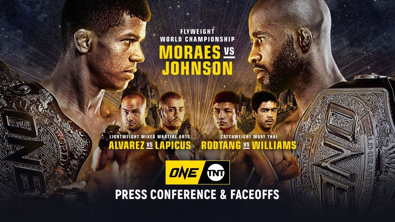 ONE On TNT I Press Conference & Faceoffs