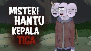 Misteri Hantu Kepala Tiga - Kartun Hantu Lucu - Kartun Horor - Surgatoon
