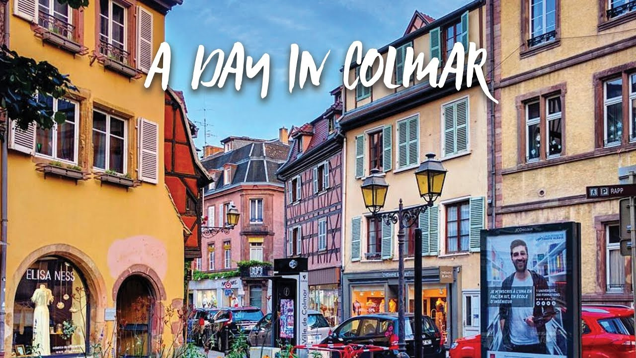 a walk through colmar france alsace 39 s most enchanting city youtube. Black Bedroom Furniture Sets. Home Design Ideas