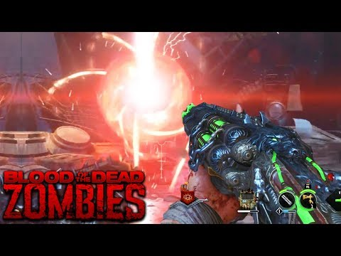BLOOD OF THE DEAD: MAIN EASTER EGG HUNT - NEW STEPS FOUND! (Black Ops 4 Zombies)