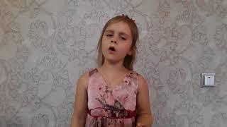 "7 years old girl Maria singing opera ""o mio babbino caro""."