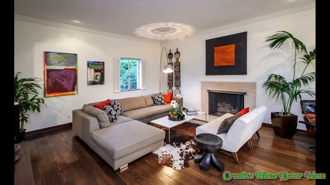 L Shaped Sofa in Living Room - YouTube