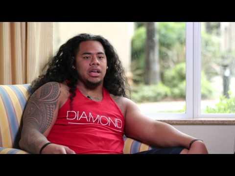William Latu | Abilene Christian University | NFL Draft Training