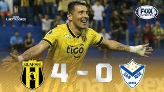 Guaraní - San José [4-0] | GOLES | Primera Ronda (Vuelta) | CONMEBOL Libertadores