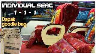 Waww || Trip report Full Service Class Seat 1-1-1 Sempati Star