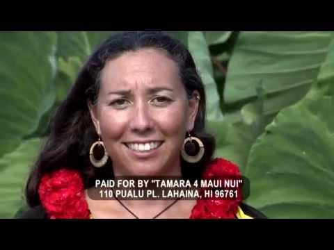 Tamara Paltin For Mayor Of Maui County Ad #1