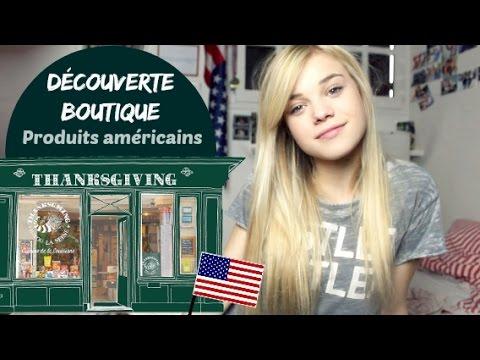 DECOUVERTE BOUTIQUE: Produits Américains│Thanksgiving