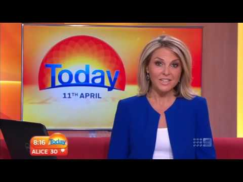 SkinDNA Genetic Test on Channel 9 Today Show
