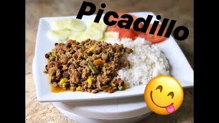 How To Make Picadillo  Ground Turkey Or Ground Beef  | Eli