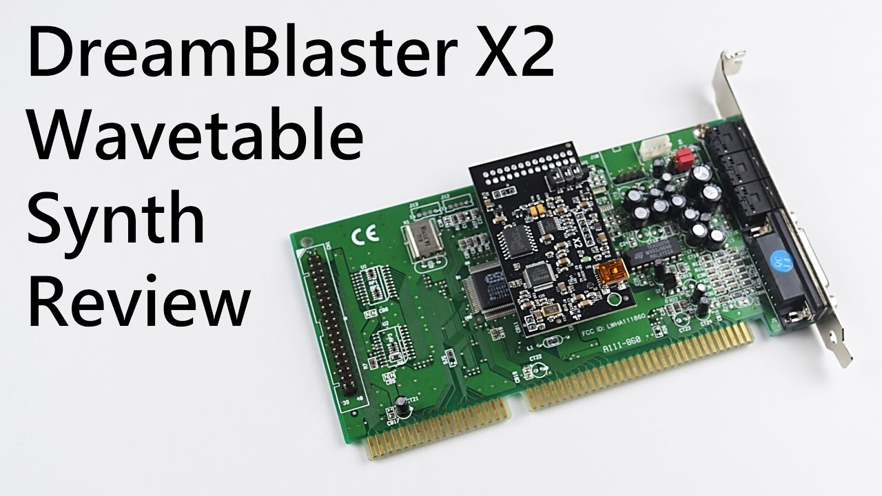 DreamBlaster X2: A Modern MIDI Synth For Your Sound Blaster
