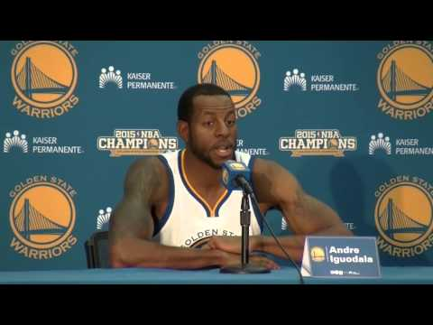 Andrew Iguodala compares the Sixth Man of the Year award to affirmative action
