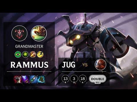 Rammus Jungle vs Gragas - BR Grandmaster Patch 10.9