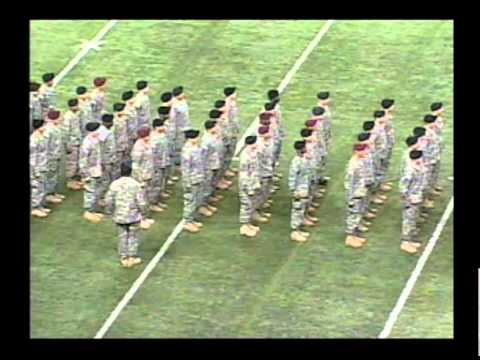 2011 Pre-game - Returning Heroes & Oath Of Enlistment