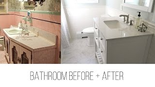 LIGHT + BRIGHT BATHROOM MAKEOVER 🌿
