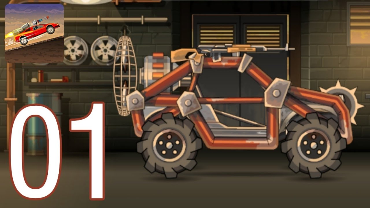 Earn to Die 2 Gameplay Walkthrough Part - 01 Level 01