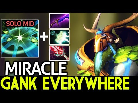 Miracle- [Natures Prophet] New Style Solo Mid Ganking Everywhere Pro Game 7.21 Dota 2 thumbnail