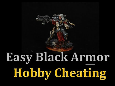 Hobby Cheating 268 - How to Paint Easy Black Armor with Oils indir
