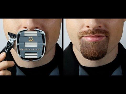 Goateesaver Shaving Template