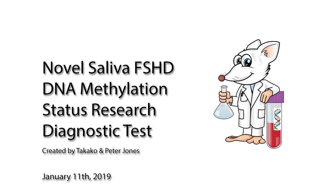 FSHD Saliva DNA Methylation Status Research Diagnostic Test - Peter &  Takako Jones Lab