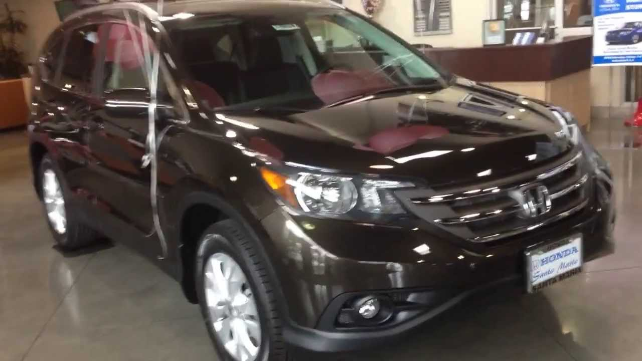 2014 Honda Crv Exl Kona Coffee Metallic With Accessories