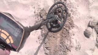 garrett ace 250 beach hunt im no crackbadger metal detecting