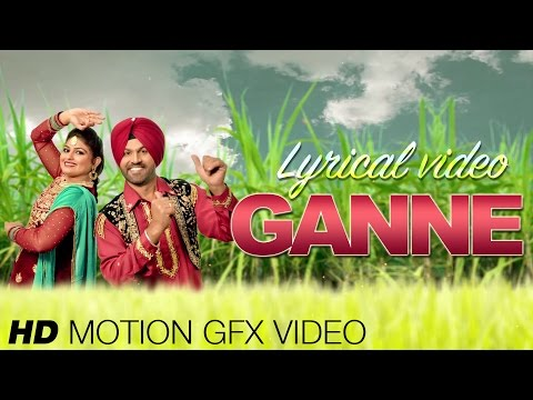 New Punjabi Songs 2015 | Ganne | Atma Budhewal & Aman Rozi | HD Motion GFX Lyrical Video streaming vf