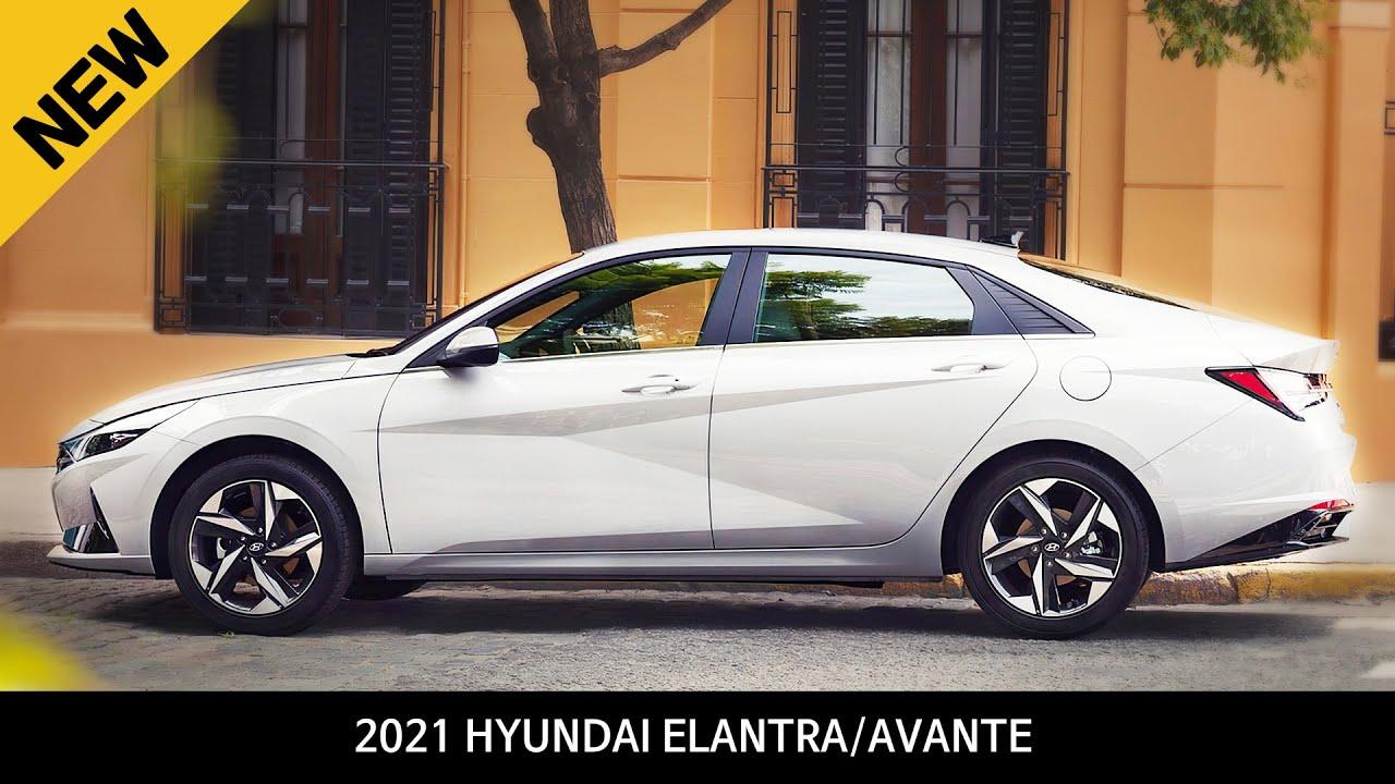 All new 2021 Hyundai Elantra (Hyundai Avante) Walkaround ...