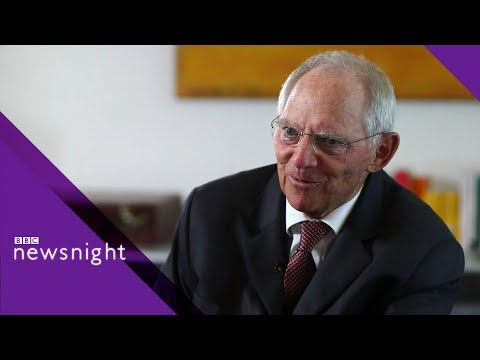 Wolfgang Schäuble on Brexit and the issues facing Europe - BBC Newsnight