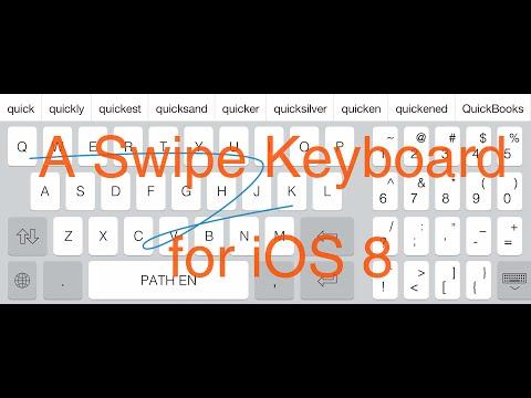 Swipe Keyboard For Ipad For Ios