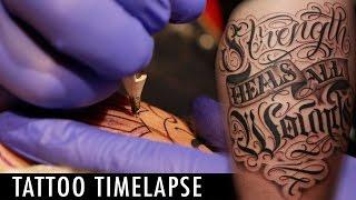 Tattoo Timelapse - Edmar Ramirez