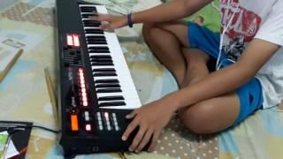 แกะเพลงเล่นๆ กับ Roland XPS-10 - มักสาวปากแป - อีเกิ้ง [Keyboard Cover]
