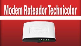 Como mudar a senha wi-fi modem Technicolor TD5136v2