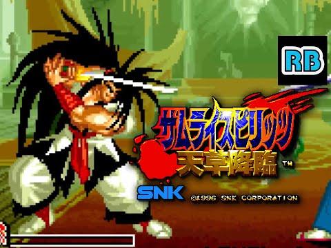 1996 [60fps] Samurai Spirits Amakusa Kourin Haohmaru ALL