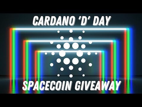 Spacecoins GIVEAWAY! Cardano D Day, Africa Blockchain Conference