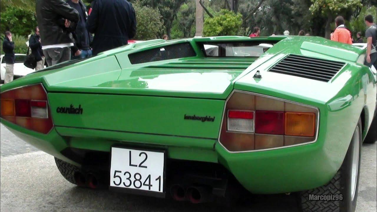 Green Lamborghini Countach Lp400 Youtube
